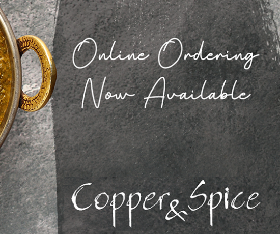 Copper and Spice order online