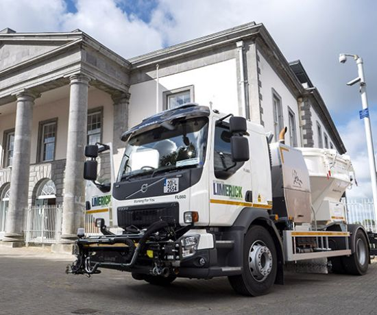 Limerick City and County Council - New gritting and road repair vehicles (Pic Don Moloney Photography)
