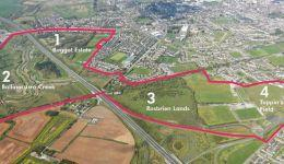 Aerial Photo - Limerick Southside Masterplan