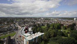 Limerick City from the air