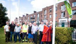 Peoples Park Green Flag Pic Keith Wiseman