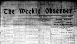 Weekly Observer newspaper