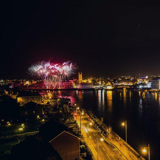About Limerick Culture & Arts - Fireworks in Limerick (Pic Sean Curtin)